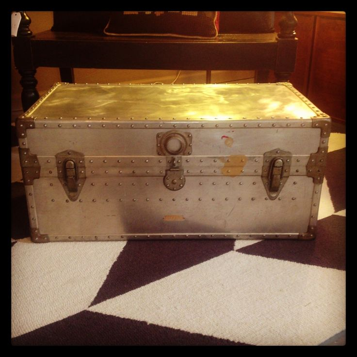 Metal Storage Chest Coffee Table 220 Occidental