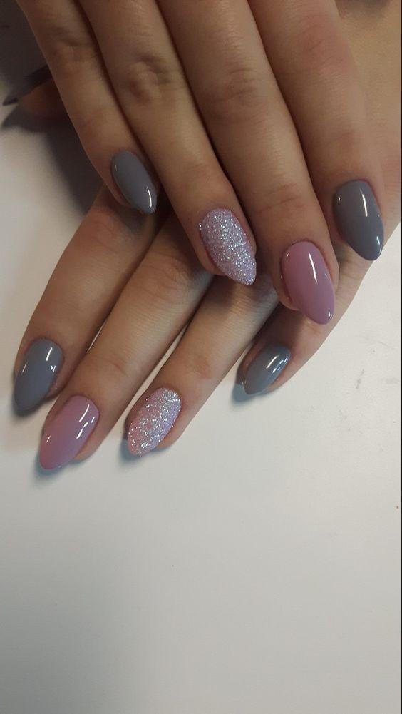 Mandelförmige Nägel sind super praktisch und können so lang oder so kurz wie ...