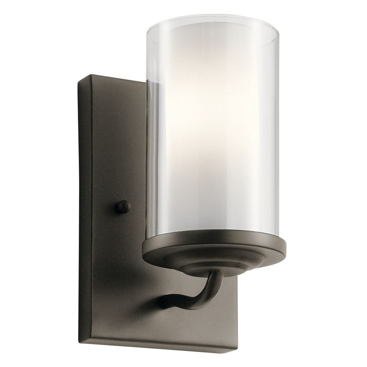 Kichler Lighting Lorin Collection 1 Light Olde Bronze Wall Sconce