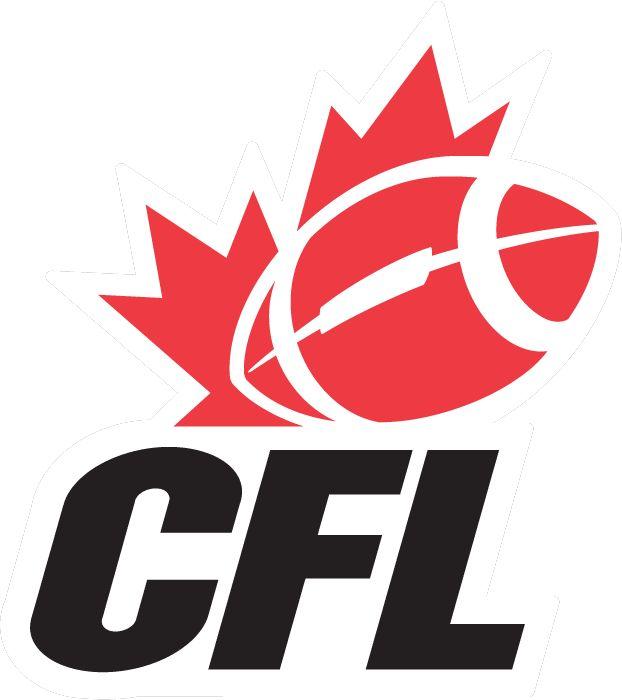 canadian football league emblem | Canadian Football League Primary Logo - Canadian Football League (CFL ...