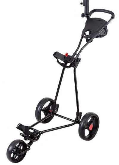 Tangkula Folding Golf Cart 3 Wheels Lightweight Golf Club Push Pull