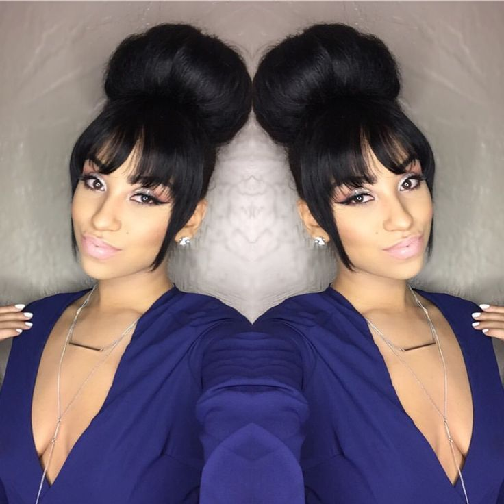 78 best ideas about black hairstyles updo on pinterest