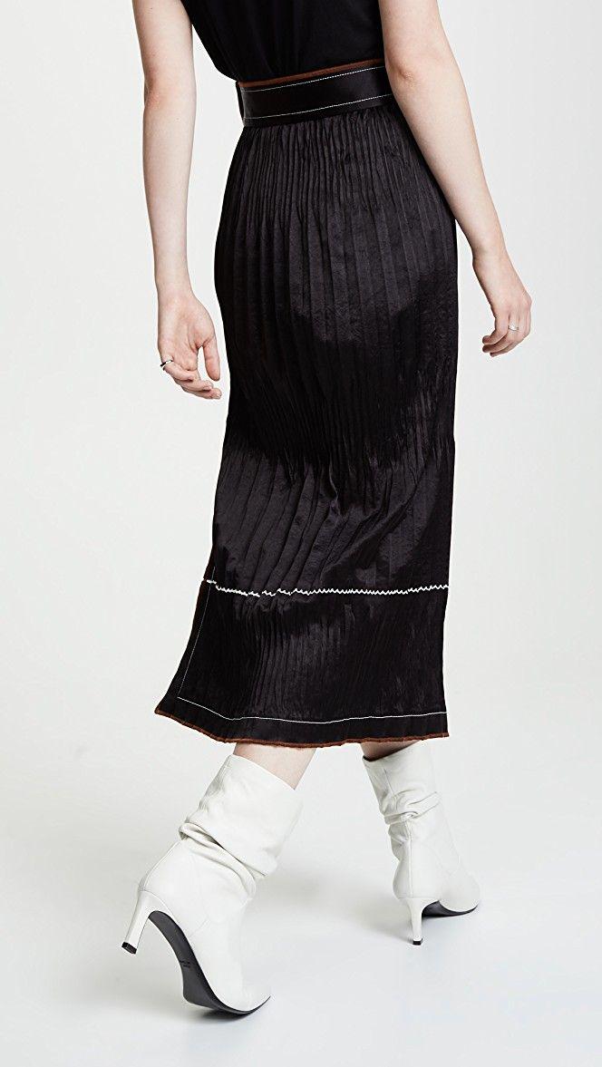 27990ebcb2 Helmut Lang Crinkle Pleated Skirt | 15% off 1st app order use code: 15FORYOU