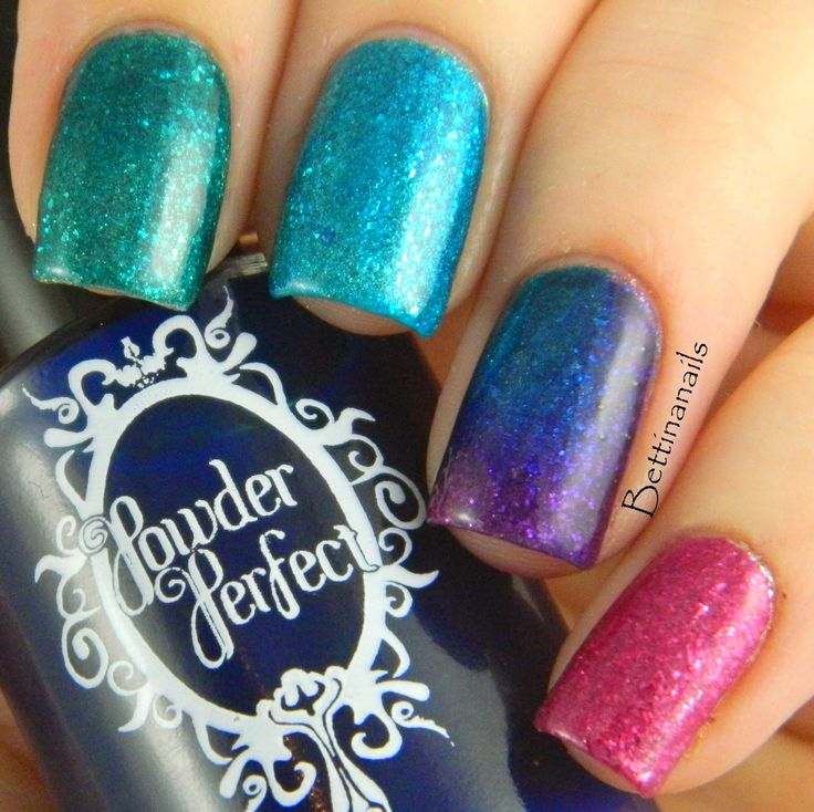 Bettina Nails: Stained Glass Polishes by Powder Perfect