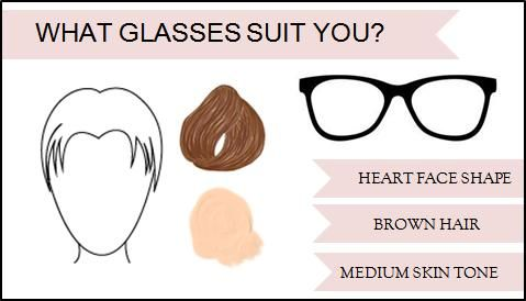 Eyeglass Frame Color For Warm Skin Tone : 17 Best images about Eyewear Advice on Pinterest Oval ...