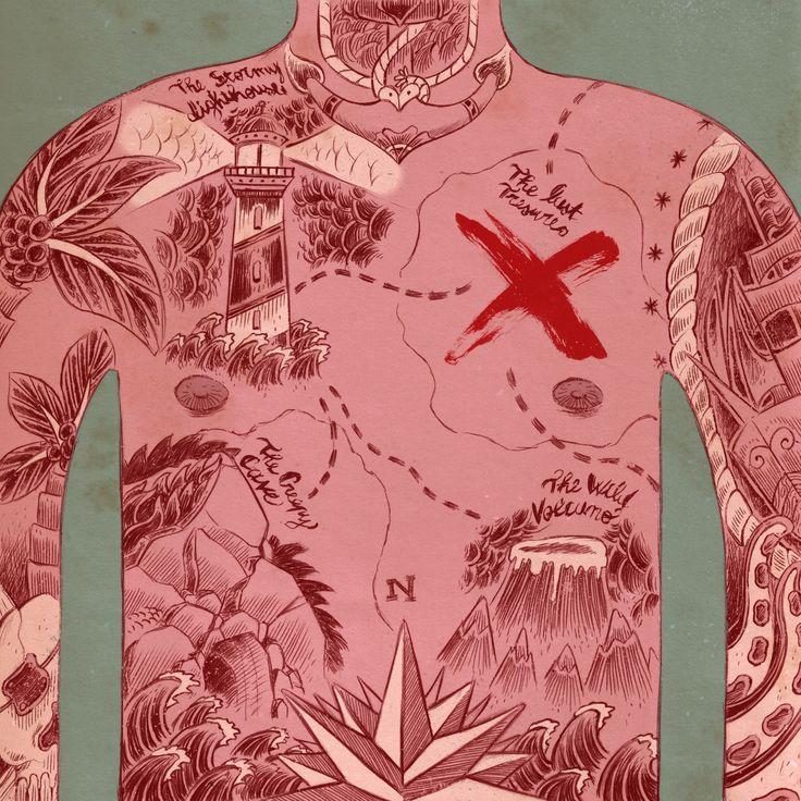 """Illustrazione vincitrice del premio popolare in occasione di """"Tapirulan 2014"""" Tema: X"""