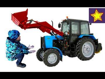 Тракторы и дети Два трактора собирают мусор Видео для детей Kids video about tractor http://video-kid.com/21486-traktory-i-deti-dva-traktora-sobirayut-musor-video-dlja-detei-kids-video-about-tractor.html  Привет, ребята! В этой серии Игорюша встречает на улице два трактора Беларус. Один трактор с прицепом, а другой трактор с ковшом загружает мусор в прицеп. Спецтехника в работе.******************************************************Спасибо большое за просмотр, нашего канала!Thanks а lot for…