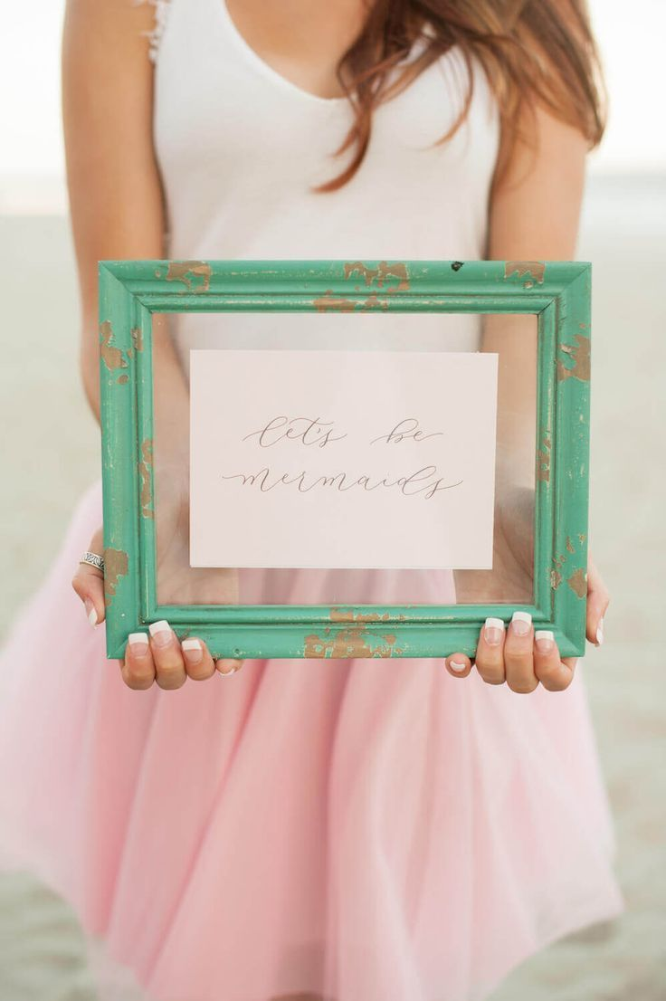 4501a7974d1b This Surprise Bridal Brunch Is Full Of Mermaid Dreams