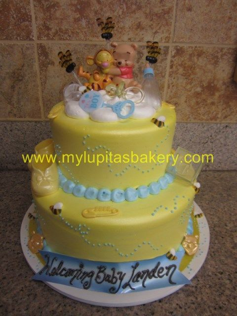 baby shower winnie the pooh cake cakes and cupcakes cookies pint