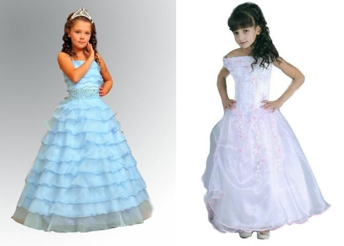 Детские костюмы и платья для девочек