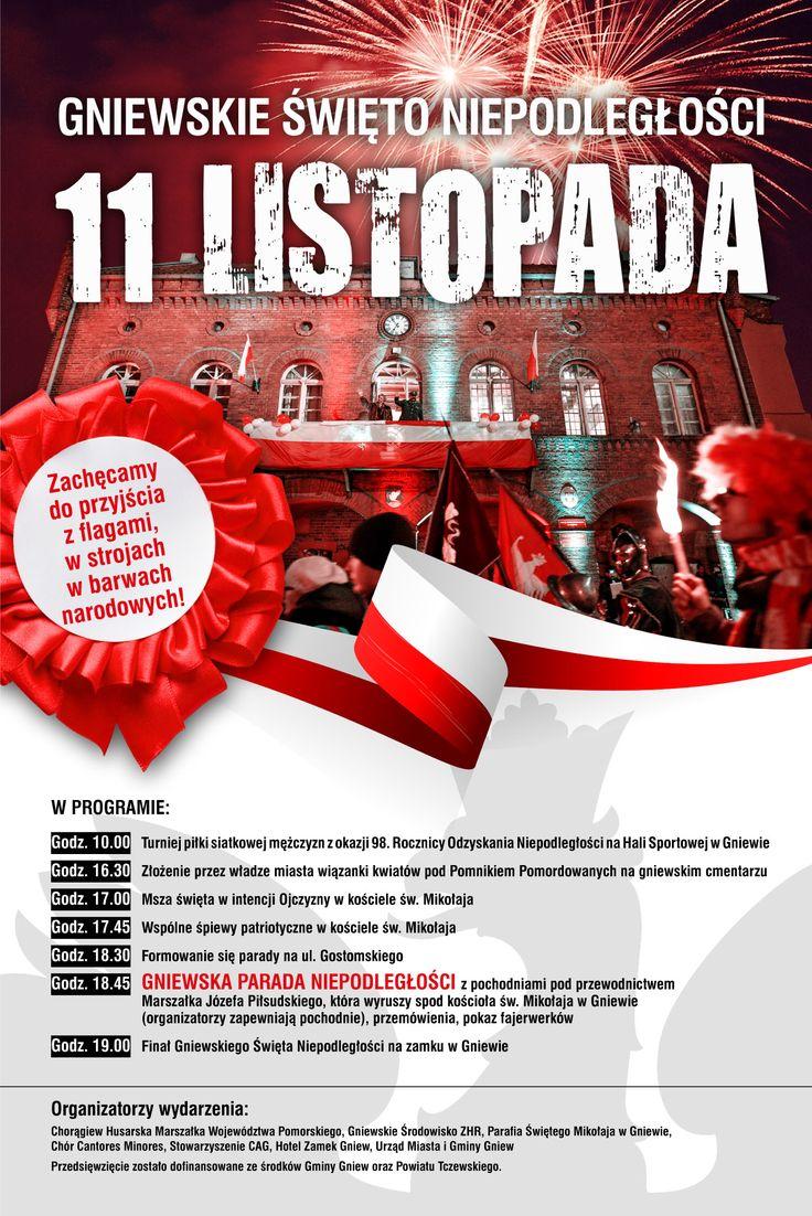 Gniewska Parada Niepodległości 2016  #11listopada #11listopada2016 #gniew #opanujgniew #gminagniew #święto #swietoniepodleglosci #dzienniepodleglosci #flaga #Polska #patriotycznygniew #patriotycznie #patrioci #dumni #independence #Parade #parada #flag #patriotic #patriotically #patriots #proud #pomorskie #pomorze #Kociewie #Pomerania #Poland