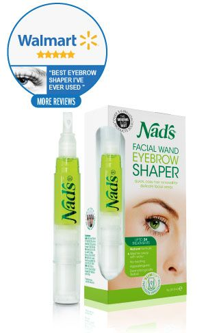 Nads Hair Removal Facial Wand Eyebrow Shaper
