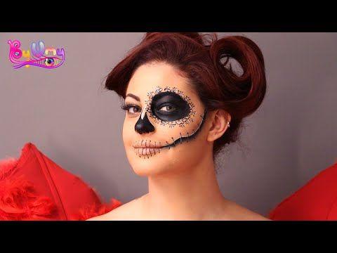 Cadılar Bayramı - Halloween makyajı - Byumy Makeup - YouTube