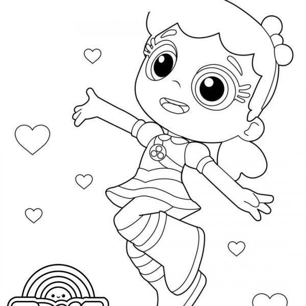 True And The Rainbow Kingdom Coloring Pages True And Bartleby Line Drawing Free Printabl Coloring Pages Free Printable Coloring Pages Free Printable Coloring