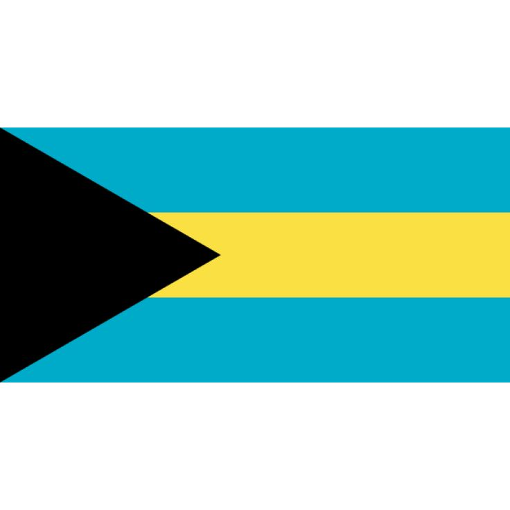 Tafelvlaggen Bahama's 10x15cm   Bahamaanse tafelvlag