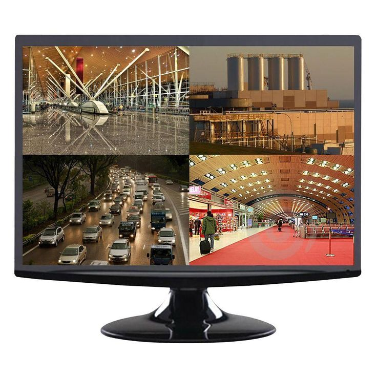 AVUE 18.5 in. LED Cctv Monitor
