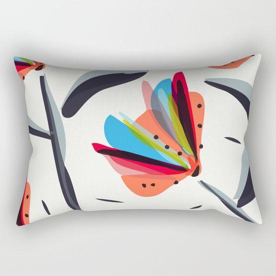 Les oiseaux du paradis Rectangular Pillow