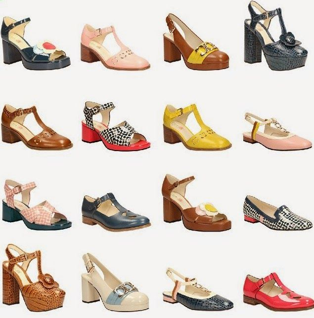 I Love Orla Kiely: Orla Kiely for Clarks Spring/Summer 2015 Collection Coming Soon