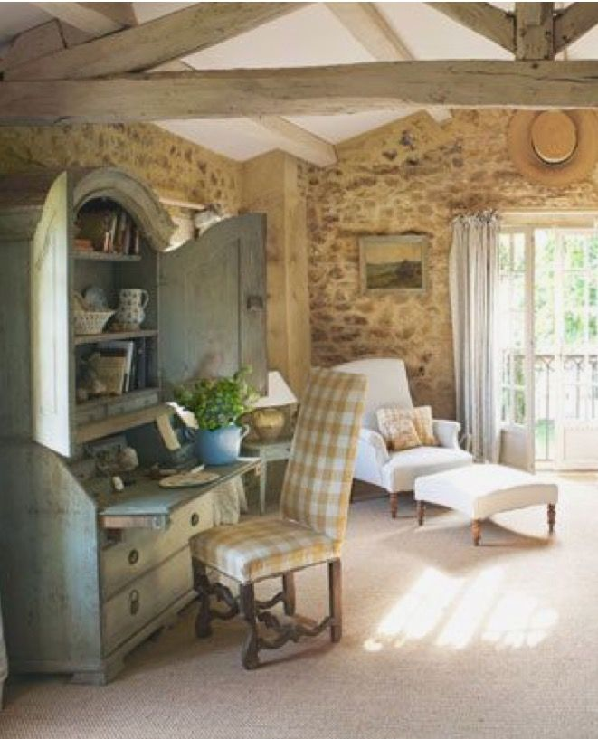 Best Provence Interior Images On Pinterest French Country - Cozy wooden country house design with interior in colors of provence