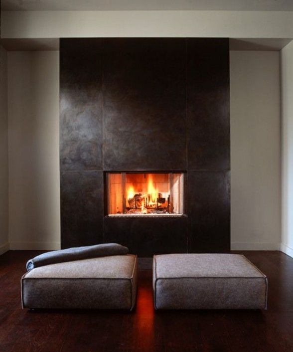 Gorgeous. In my future home I need this! Just a smaller room with a fireplace and a peaceful place to sit and relax without a TV !!!