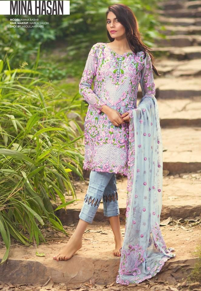 Mina Hasan Winter New year Dresses 2016 By Shariq Textile (5)