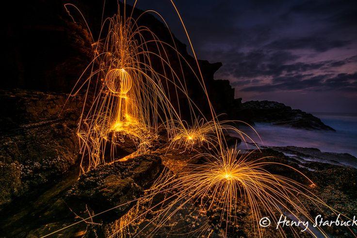 Thompsons bay lit up 2