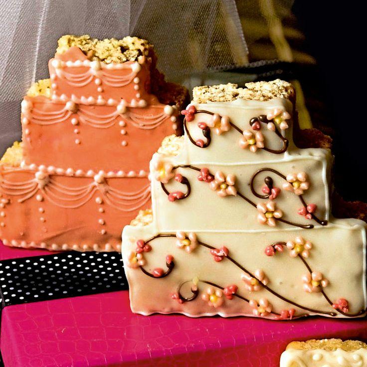 'Wedding cake' rice krispies, GraciousBridal.com, Rs 320 onwards
