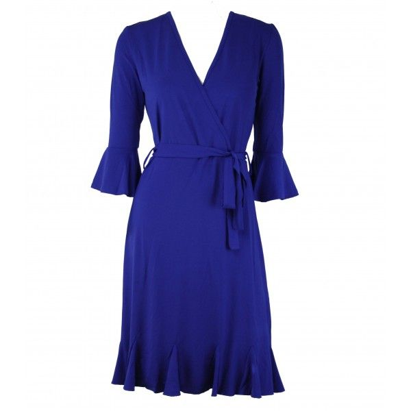 Cara Crossover Jersey Dress