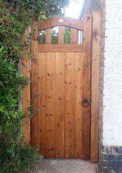 Surrey Side Entrance Gate