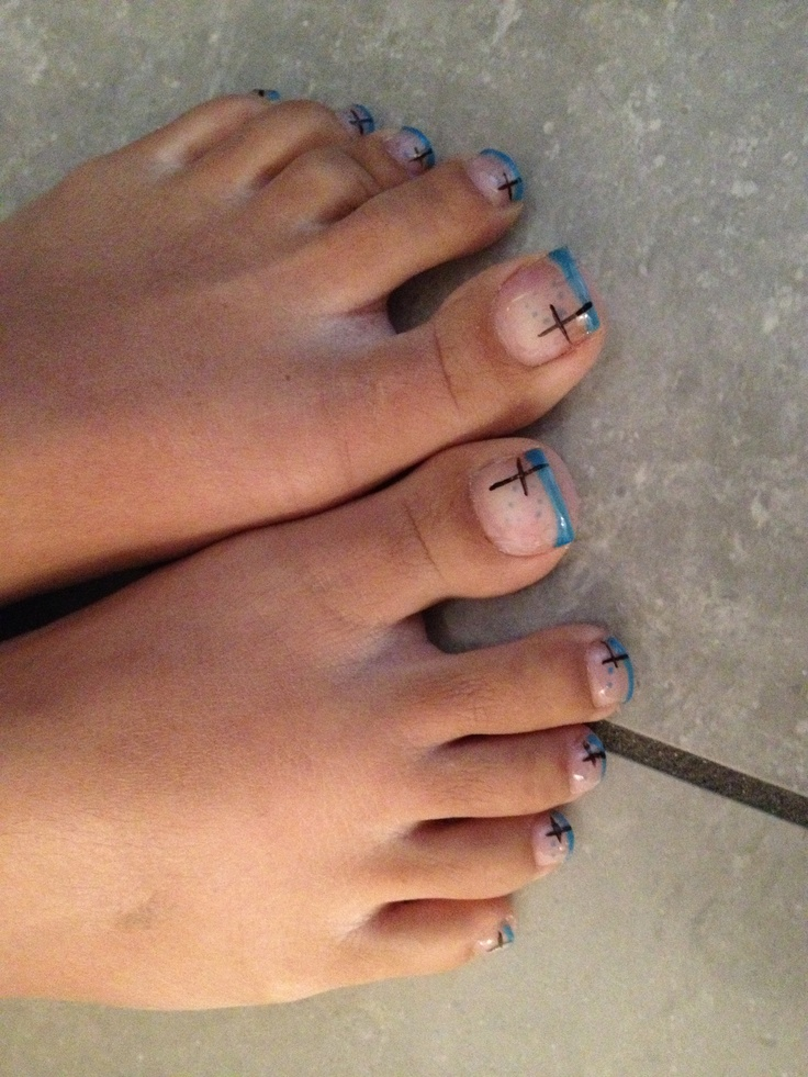 Foot nails art