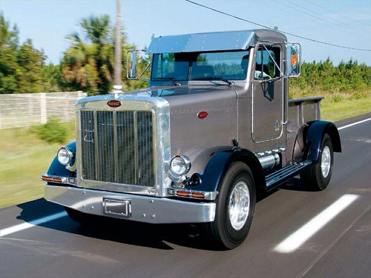 peterbilt hot rod street rod hot rod pinterest peterbilt rigs and biggest truck. Black Bedroom Furniture Sets. Home Design Ideas
