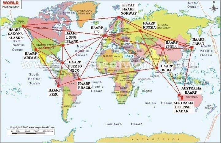 world pyramid locations | HAARP Map Of The World | world vortices