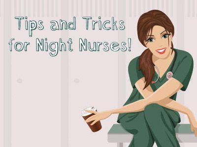 how to stay awake nurse shift