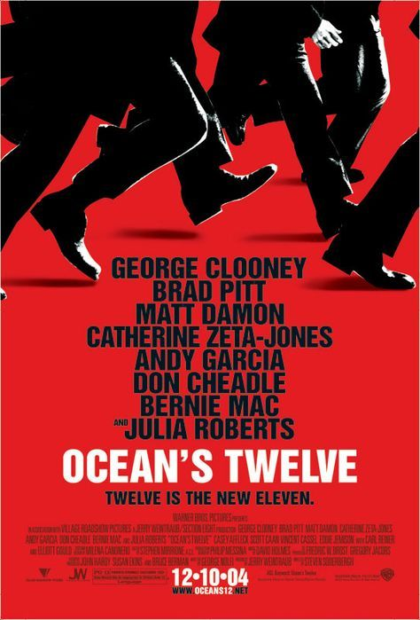 """Ocean's Twelve - More fun than the last one. Also the villain called The Night Fox is one hansom man, he steal's the show with the most memorable scene """"The Laser Dance"""". 4.5/5"""