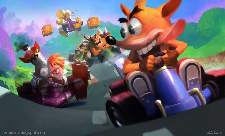 Crash Team Racing by MihaiRadu on DeviantArt