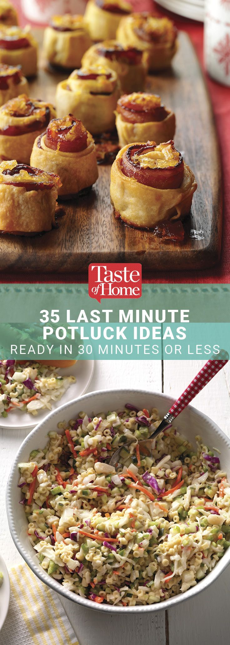 35 Last Minute Potluck Ideas Ready in 30 Minutes or Less