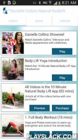 Body Yoga  Android App - playslack.com , About Danielle CollinsDanielle Collins, the World leading Face Yoga Expert and a renowned authority in Yoga, Nutrition and Wellbeing, believes we should all have the opportunity to look and feel the very best we can for our age and to feel comfortable and confident in our own skin. Her philosophy is that exercises for the face, mind and body should be fun, easy to do and fit in to our busy lives.Danielle has appeared on BBC1, ITV1, ITV2, Channel 4 and…