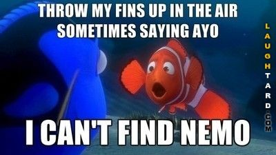 I cant find nemo
