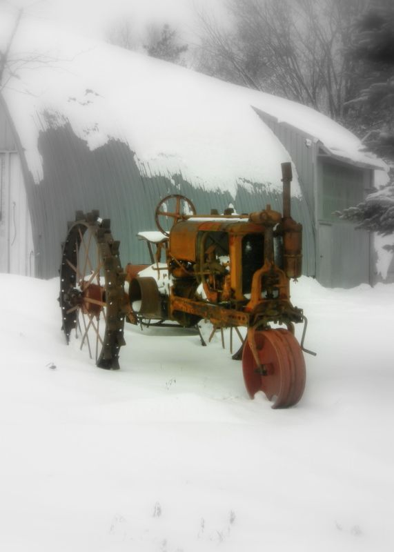 antique tractor by Janny Dangerous                                                                                                                                                                                 More