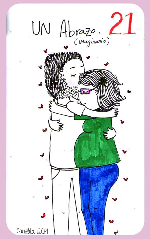 21/01/2014 Un abrazo ( Imaginario ) porque tu no estas.