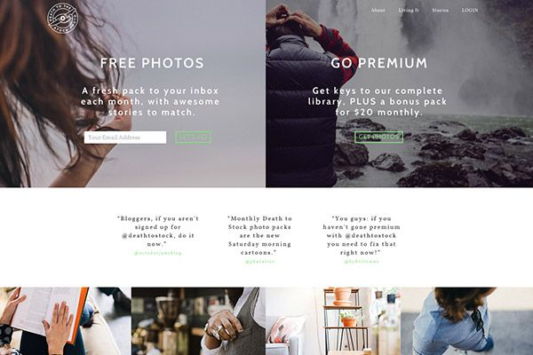Affordable (and Free!) Stock Photo Sites