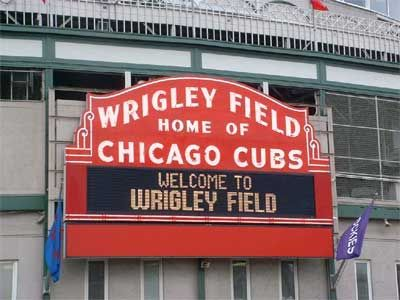 Wrigley Field, Chicago - one of the top 10 favorite places to visit in Illinois.
