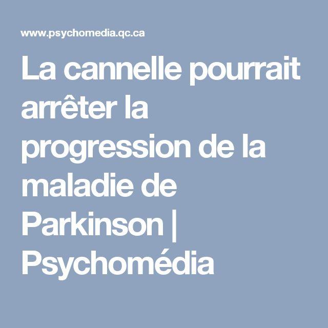 La cannelle pourrait arrêter la progression de la maladie de Parkinson | Psychomédia
