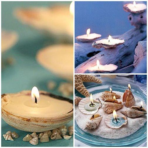 originelle Kerzen selber gießen verzieren