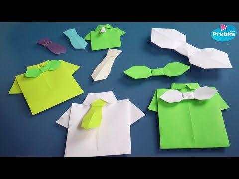 Origami : Comment faire une chemise en papier