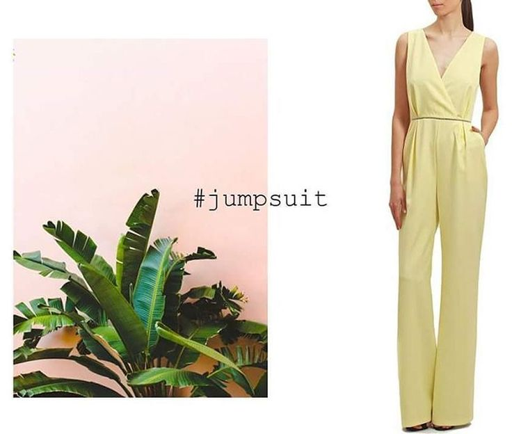 The JUMPSUIT /  A one-step outfit that will fit any occasion. At Maison Raquette #maisonraquette #romper #yellowjumpsuit #classyromper #moleculef #maisonraquette #ootd