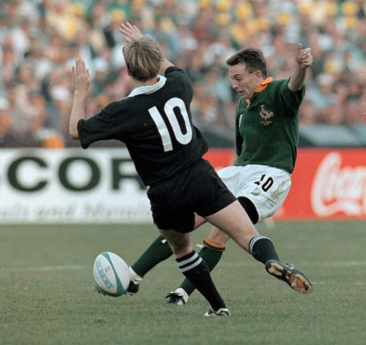 The drop goal that sealed SA's win in the 1995 Rugby World Cup!