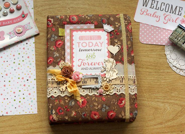 Мамин дневник для девочки - ручной работы