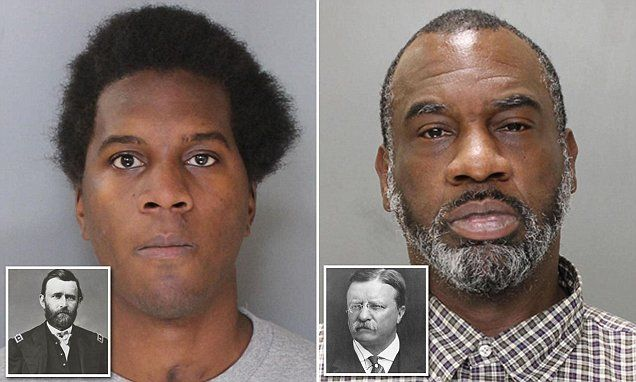 Ulysses and Roosevelt busted: Two men with names of presidents jailed, oops more Obamas sons