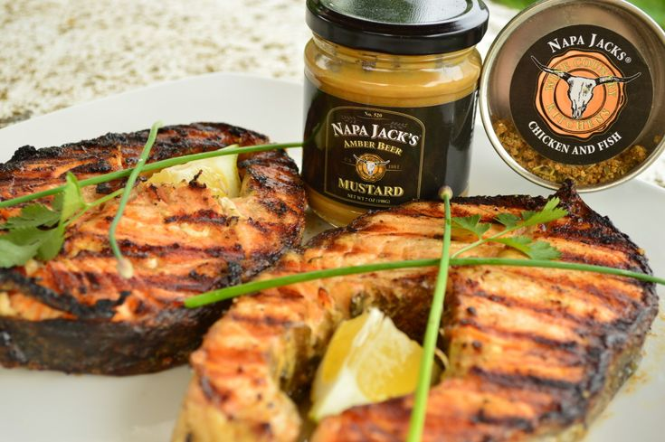 #Trending this week on our site: How to #Grill #NapaJacks Amber #Beer #Mustard #Salmon! #fish #bbq #grilling   * Subscribe to Cooking With Kimberly: http://cookingwithkimberly.com #cookingwithkimberly